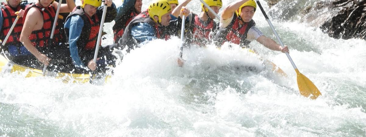 Deportes aventura -> Ofertas de Rafting en Sort 2017